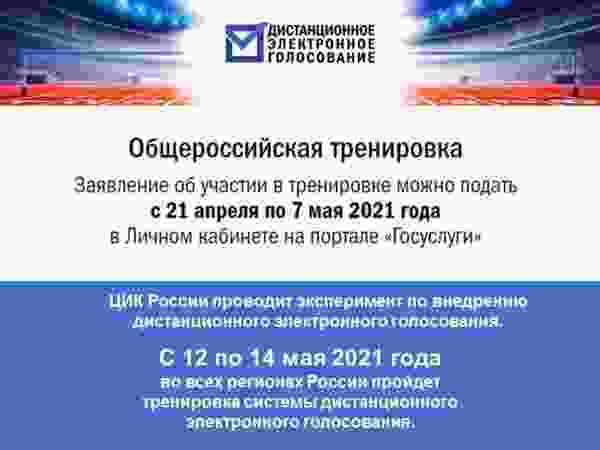Приглашают протестировать систему дистанционного электронного голосования