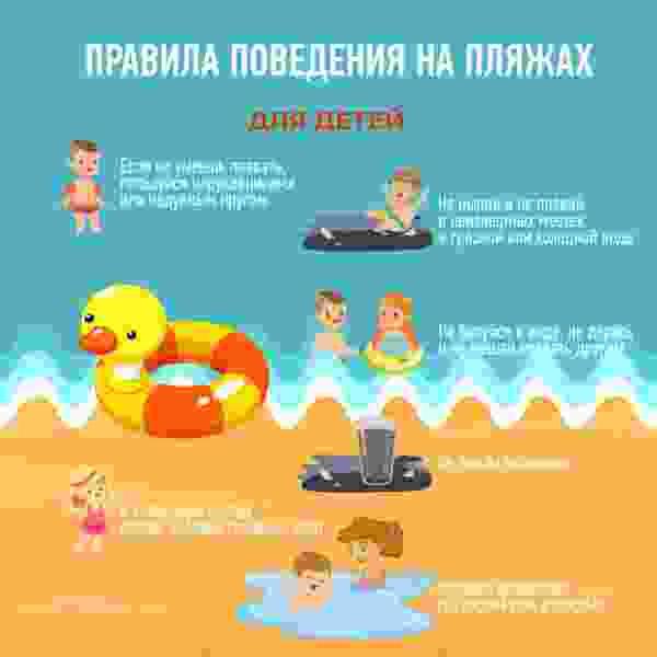Помните: дети могут находиться у воды только под присмотром взрослых!
