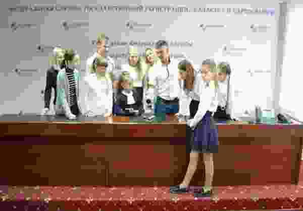 В Управлении Росреестра по Курской области состоялся Семейный день