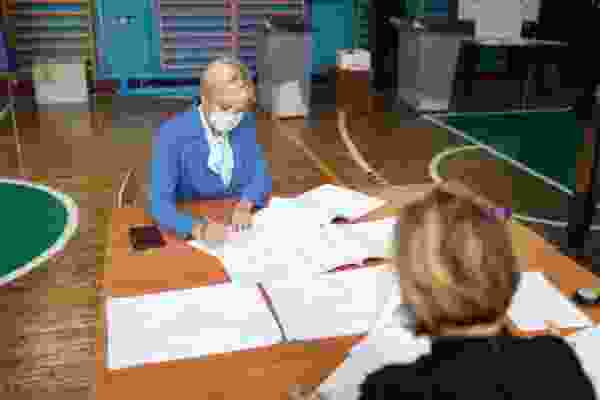 Свою гражданскую позицию на выборах высказала ректор Курской ГСХА Екатерина Харченко
